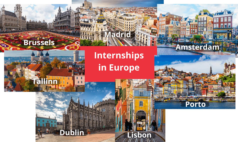 Internships Europe